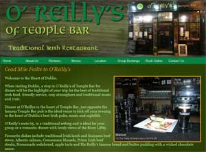 O'Reillys Traditional Irish Restaurant Temple Bar