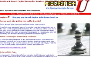 Search Engine And Directory Submission