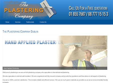 Plastering Company Dublin