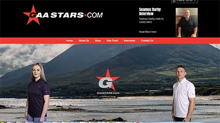 GAAStars Online Clothing Shop