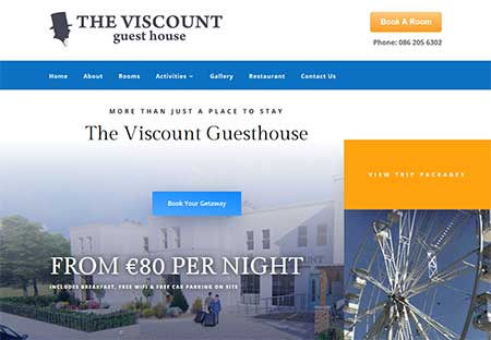 The Viscount Guesthouse Bundoran, Co Donegal
